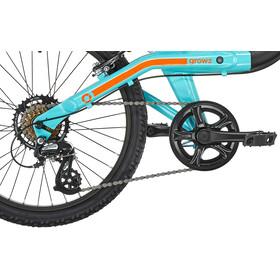ORBEA Grow 2 7V Childrens Bike black/turquoise